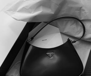bag, cleo, and leather image