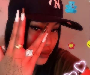 filters, hats, and nails image