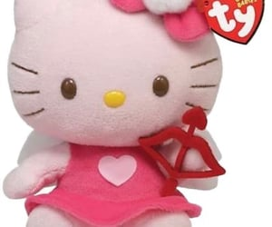 february, hello kitty, and plushie image