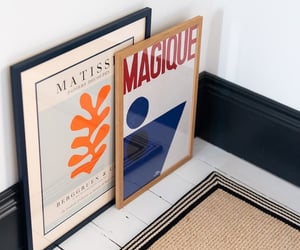 decor, poster, and decoration image