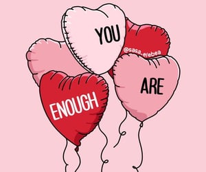 empowerment, you are enough, and feminism image