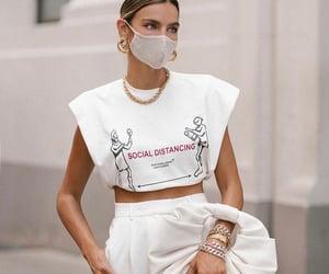 fashion, mask, and style image