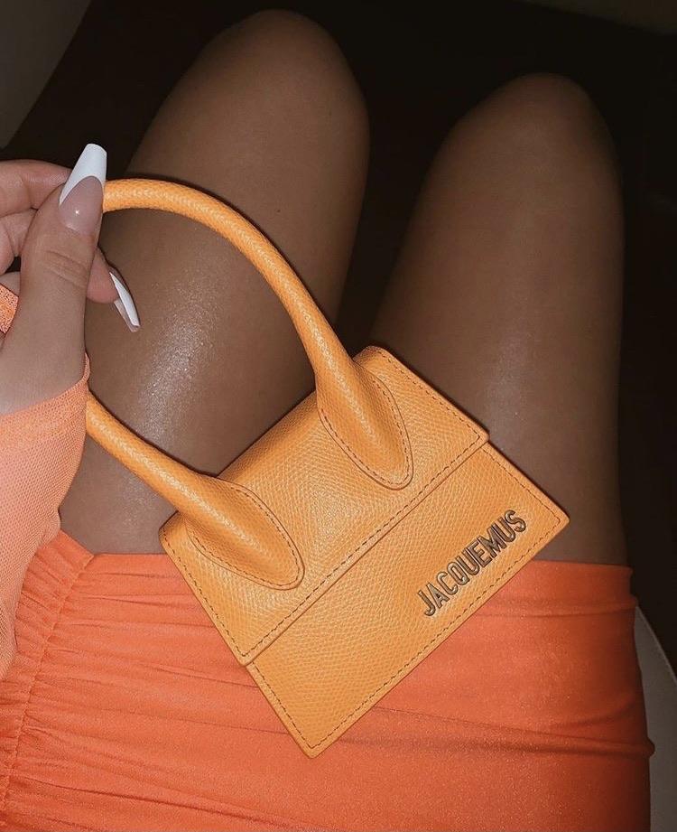 jacquemus, bag, and orange image