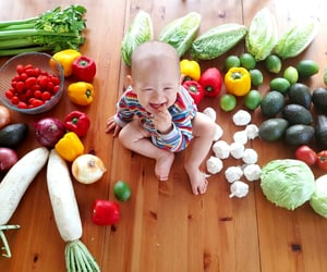 boy, smile, and food image