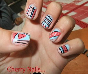 nail art, unhas, and nail polish image