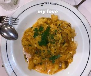 food, italian, and pasta image