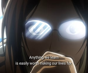 anime, words, and attack on titan image