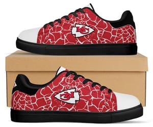 custom shoes, kc chiefs, and etsy image
