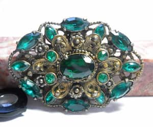 etsy, vintage brooch, and czech brooch image