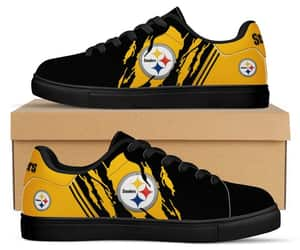 custom shoes, pittsburgh steelers, and etsy image