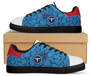 custom shoes, titans fans sneakers, and running shoes image