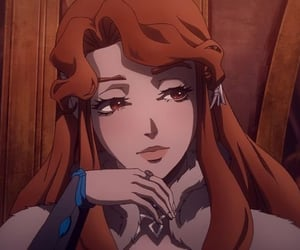 anime, castlevania, and vampire image