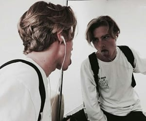 actor, cole sprouse, and boy image