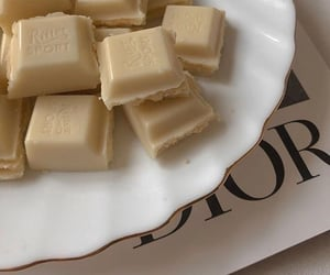 aesthetic, chocolate, and white chocolate image