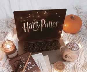 book, candles, and movie image
