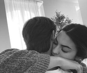 baby, hug, and kiss image