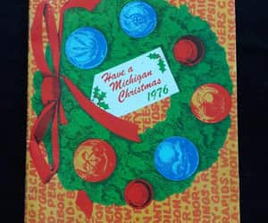 christmas cookies, desserts, and holiday wreath image