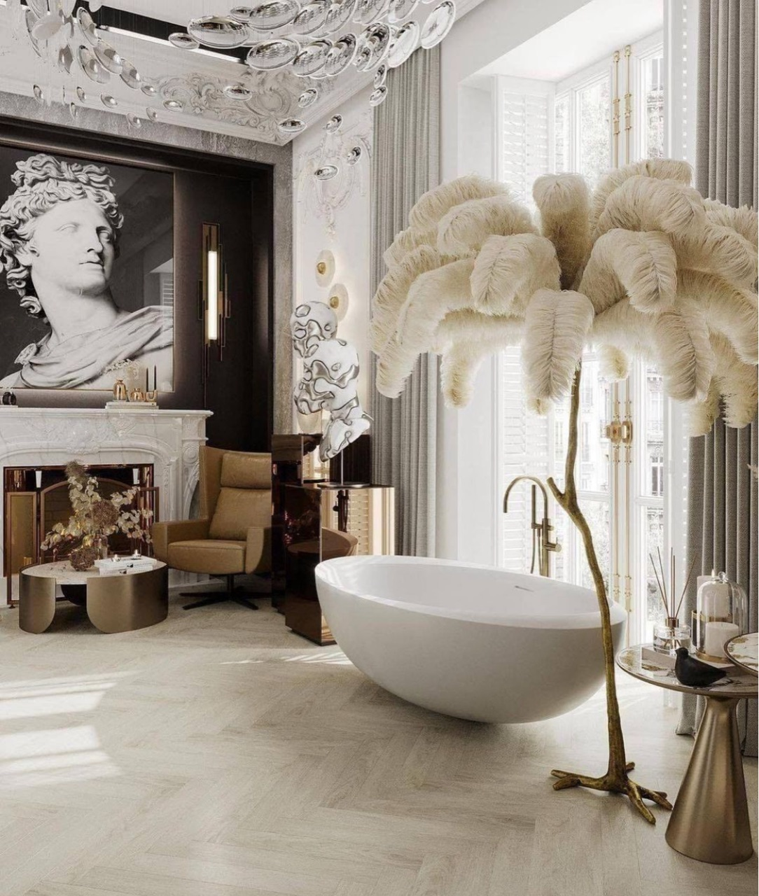 aesthetic, architecture, and bath image