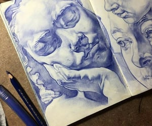 book, blue, and passion image