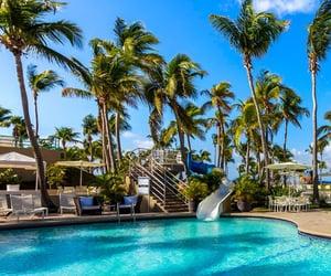 Caribbean, beach vacation, and beachfront hotel image