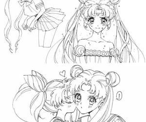 anime, kiss, and sailor moon image