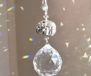 crystal, prism, and sun catcher image