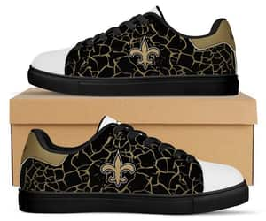 custom shoes, saints fans sneakers, and etsy image