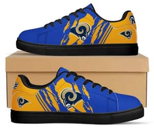 custom shoes, los angeles rams, and running shoes image