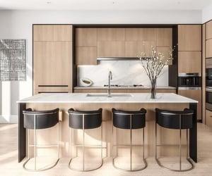 interior design, kitchen, and kitchen decor image