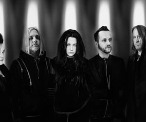 amy lee, evanescence, and tim mccord image