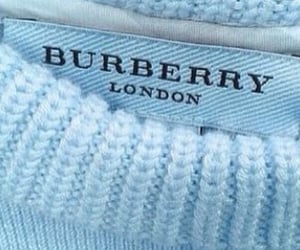 blue, Burberry, and comfy image