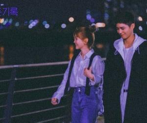 blue, Korean Drama, and park bo gum image