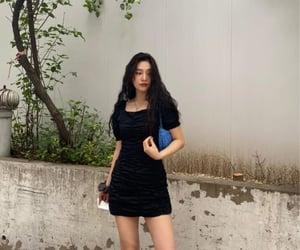black dress, joy, and red velvet image
