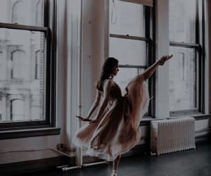 ballet, beauty, and dancer image