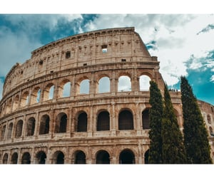 colosseum, rome, and travel image
