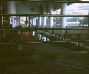 film camera, gate, and pier image