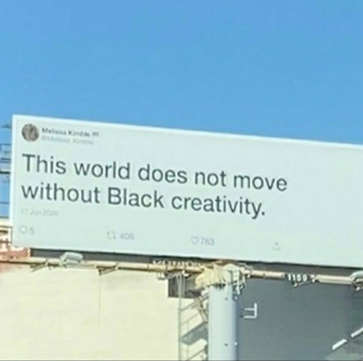 black, creativity, and blm image