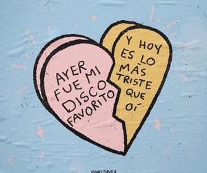 sad, heartbreak, and español image