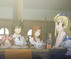 anime, carla, and lucy heartfilia image