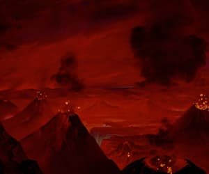 1940, animation, and volcano image