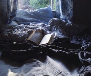 soft, blue, and books image