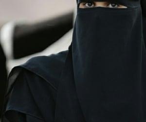 hijab, müslimah, and niqab image