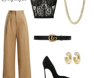 clothes, heels, and shoes image