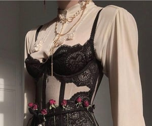 aesthetic, corset, and look image