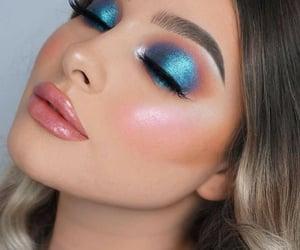 blush, eyeliner, and make up image