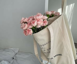 aesthetic, carnations, and interior image