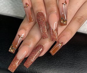 beauty, naildesign, and gelnails image