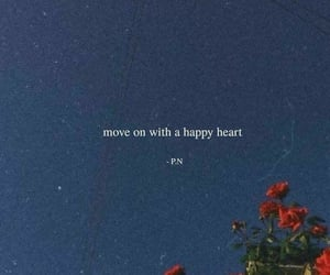 happy, heart, and on image