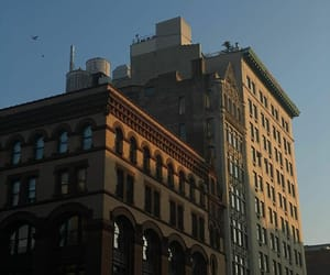 aesthetic, building, and sun image