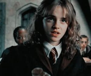 hermione granger, harry potter, and movie image